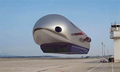 Airships Solar Powered Cool Rides
