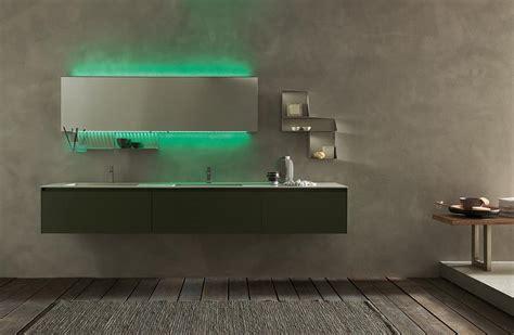 Accessori Bagno Verde Mela Set