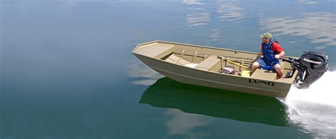 Bass Pro Shop Flats Boat by Aluminum Utility And Jon Boats Lund Jon Boat Series