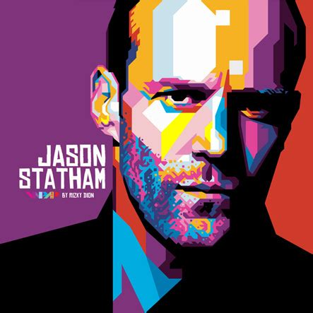 New Wpap Gusdur jason statham wpap wpap wedha s pop portrait by