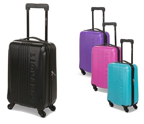 handgepäck koffer hartschale 31l leonardo koffer reisekoffer handgep 228 ck trolley koffer