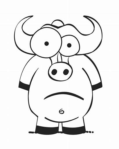 Coloring Crazy Ox Printable Insertion Adult Popular
