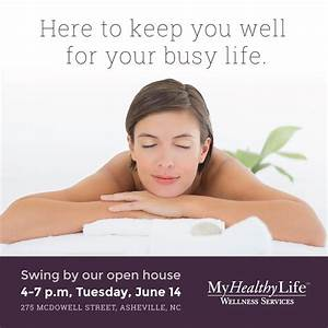 My Healthy Life Wellness Services to Hold Free Open House ...