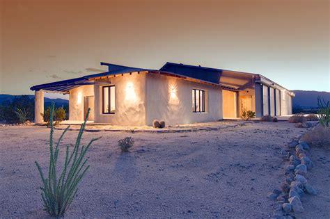 Southwest Style Home Using Straw Bale