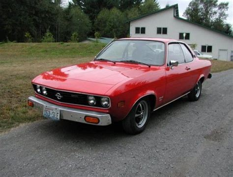 1974 Opel Manta For Sale by 2 Owner 1974 Opel Manta Coupe Bring A Trailer