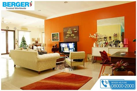 use amazing bright paint combination for your living room