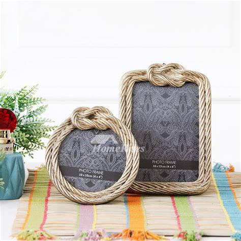 rustic  resin glass picture frames xx gold