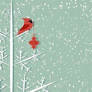 Winter background clipart vector
