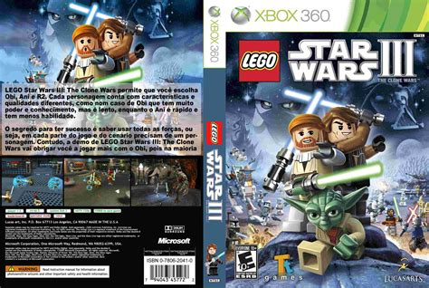 Lego Star Wars Iii The Clone Wars Masterdetijuanas Games