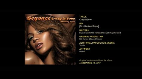 Crazy In Love (g Duppy Reggae Remix