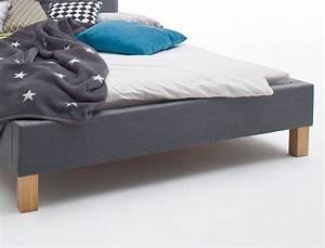 Polsterbett Grau 140x200 : polsterbett york 140x200 grau singlebett jugendbett bettgestell bett wohnbereiche schlafzimmer ~ Markanthonyermac.com Haus und Dekorationen