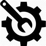 Maintenance Icon Repair Repairing Maintaining Wrench Icons