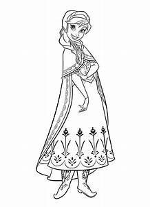 princess anna coloring pages Download