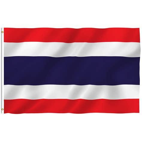 ANLEY [Fly Breeze] 3x5 Foot Thailand Flag - Vivid Color ...
