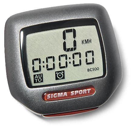 Sigma Sport Bc 500 Bike Computer  Rei Coop