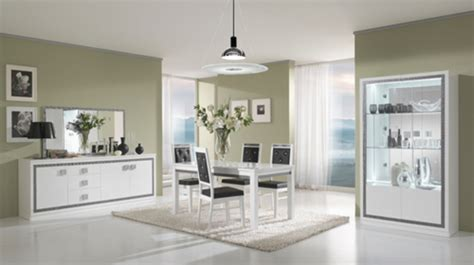 miroir salle a manger miroir thema blanc salle 192 manger blanc