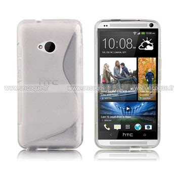housse htc one m7 coque htc one m7 801e s line silicone gel housse blanche