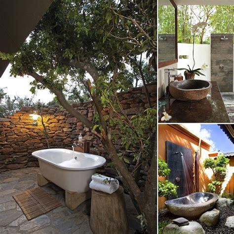 doccia in giardino goditi una doccia in giardino idee interior designer