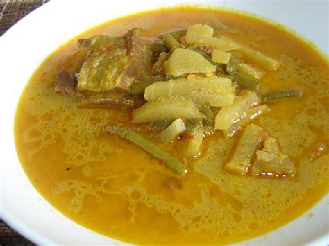 tasty indonesian food sayur lodeh