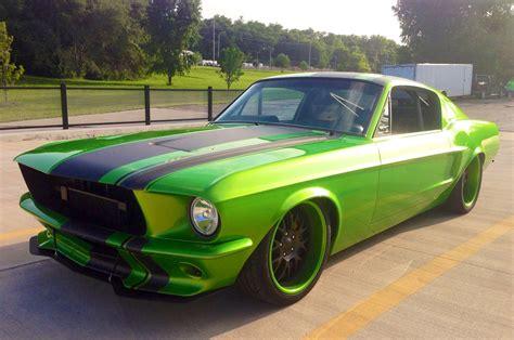 1967 Ford Mustang Restomod Looks Venomous