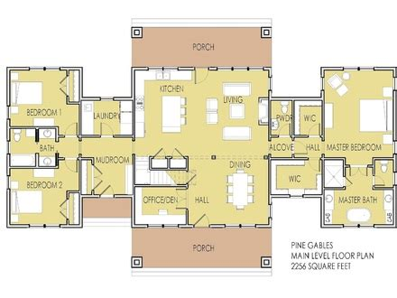 ranch house plans with 2 master suites 5 bedroom home floor plans floor home house plans house