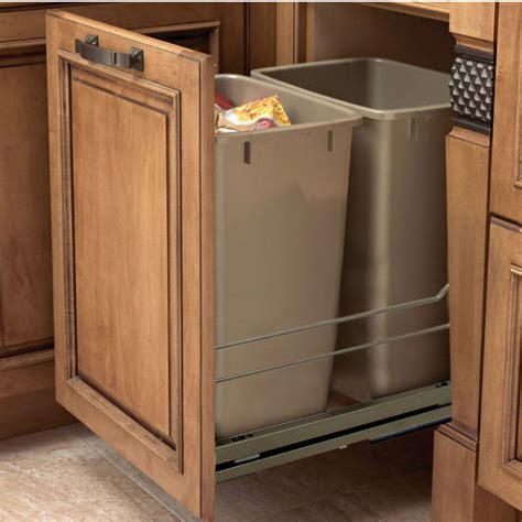 double garbage can cabinet double garbage can cabinet roselawnlutheran
