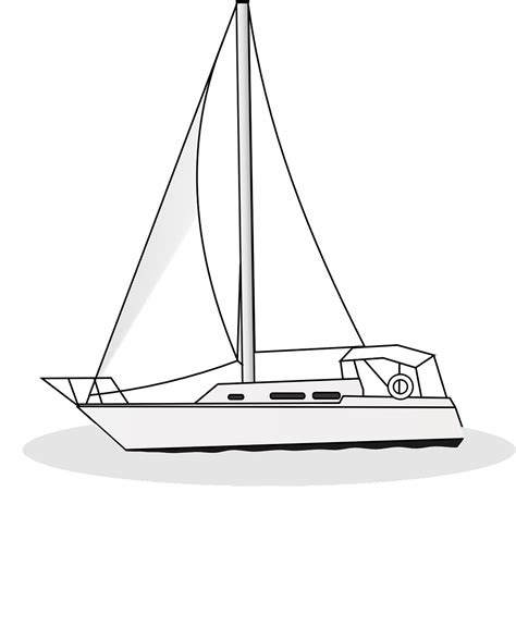 How To Draw A Fishing Boat Step By Step by How To Draw A Boat 14 Free Printable Boat Stencils How