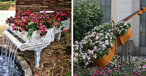 Garden Decoration Recycled by 29 Ways To Recycle Your Furniture Into A Fairytale
