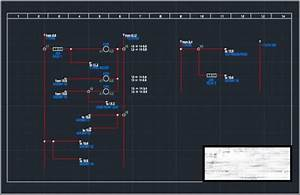 Draw Autocad Electrical Electrical Schematic  Plc Piping