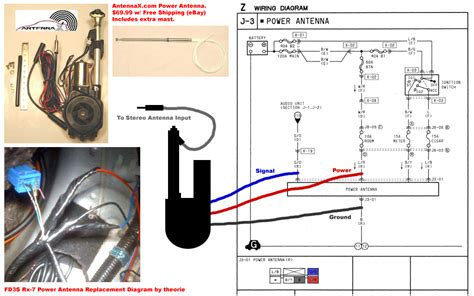 guide aftermarket power antenna replacement rx7club