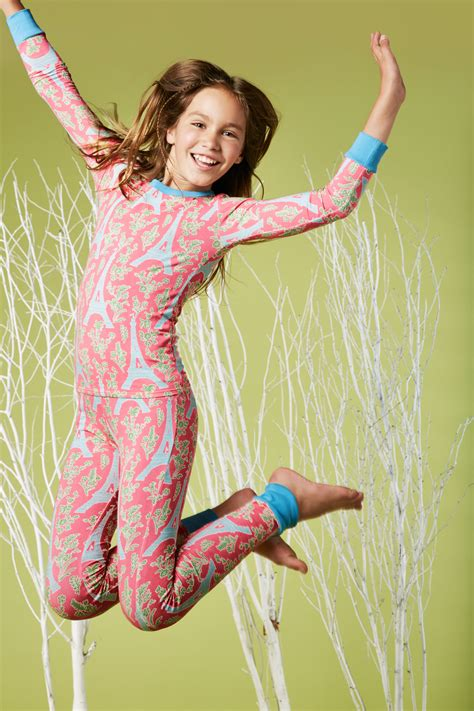 cool ls for tweens bedhead pajamas royal eiffel tower stretch tweens 39 l s