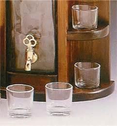 bicchieri da osteria accessori spillatore da tavolo con bicchieri mod osteria