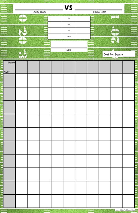 Are Office Football Pools In by Office Football Pool Spreadsheet Within Print Office Pool