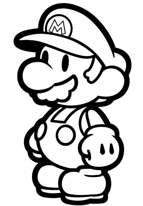 Kleurplaten Mario Bros by Kleurplaat Mario Bros En Luigi Nintendo 836