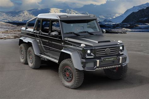 mercedes benz jeep 6 wheels mansory mercedes g63 amg 6x6 no more wheels much more power