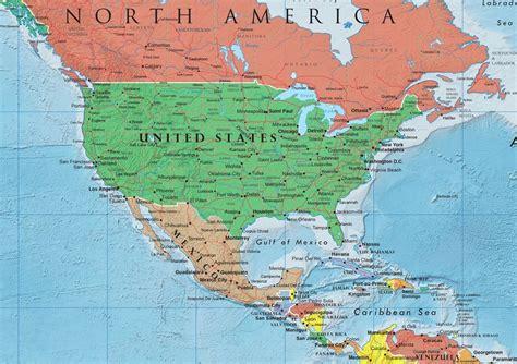 north america continent north america map list