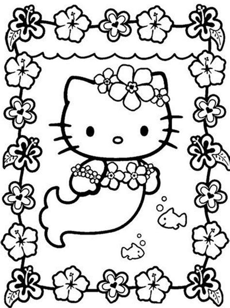 kitty coloring pages  girls bestappsforkidscom