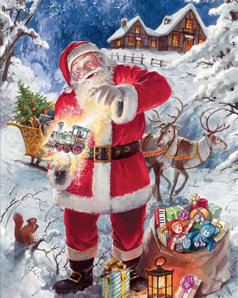 christmas magic  piece jigsaw puzzle