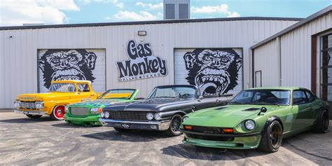 Grease Monkey Garage Tv Show by Show Gas Monkey Garage Richard Rawlings Fast N Loud
