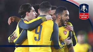 Southampton 0-5 Arsenal - Emirates FA Cup 2016/17 (R4 ...