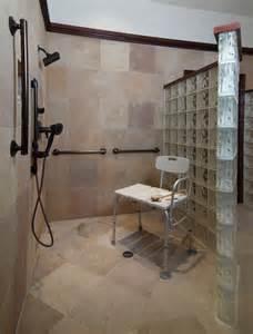 Handicap Accessible Bathroom Designs Accessible Bathroom With Masculine Luxuryuniversal Design Style