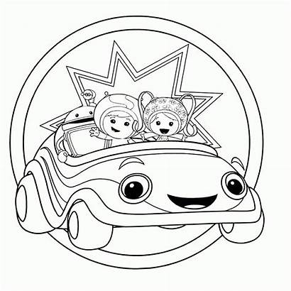 Umizoomi Coloring Team Pages Printable Soup Cartoon