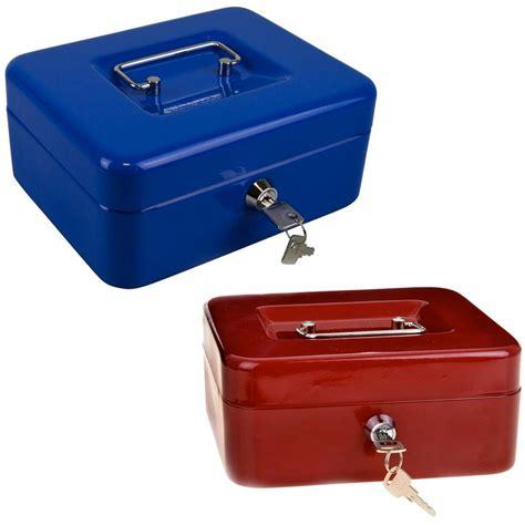 cassetta chiavi cassetta di sicurezza portavalori con vassoio portamonete