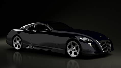 Car Maybach Exelero On The Road Wallpapers And Images