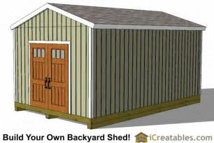 12x20 shed plans 12x20 storage shed plans icreatables