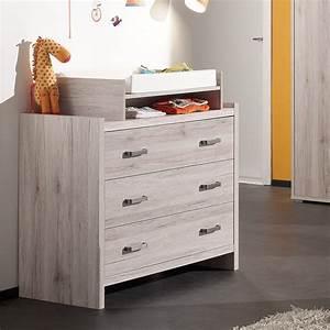 Commode Pas Cher Ikea : commode 3 tiroirs avec plan a langer ~ Teatrodelosmanantiales.com Idées de Décoration