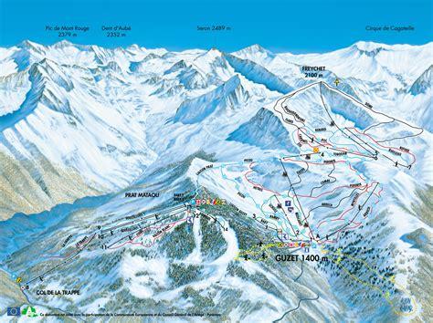 domaine skiable guzet station et pistes de ski guzet ski planet