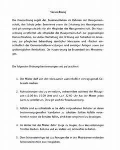 Kündigungsfrist Als Mieter : hausordnung eines vermieters muster als sofortdownload ~ Lizthompson.info Haus und Dekorationen