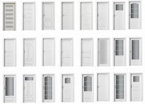 Interiérové dveře bílé prosklené