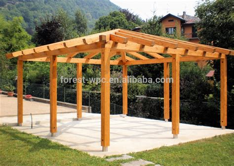 vendo gazebo madera compuesta boda gazebos para venta wpc techo gazebo